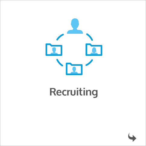 Recruiting in der HR Software